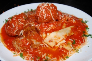 pappardelle meatballs